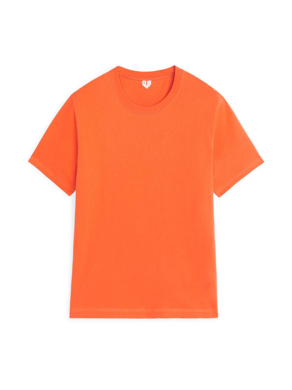 Heavyweight T-Shirt - Orange
