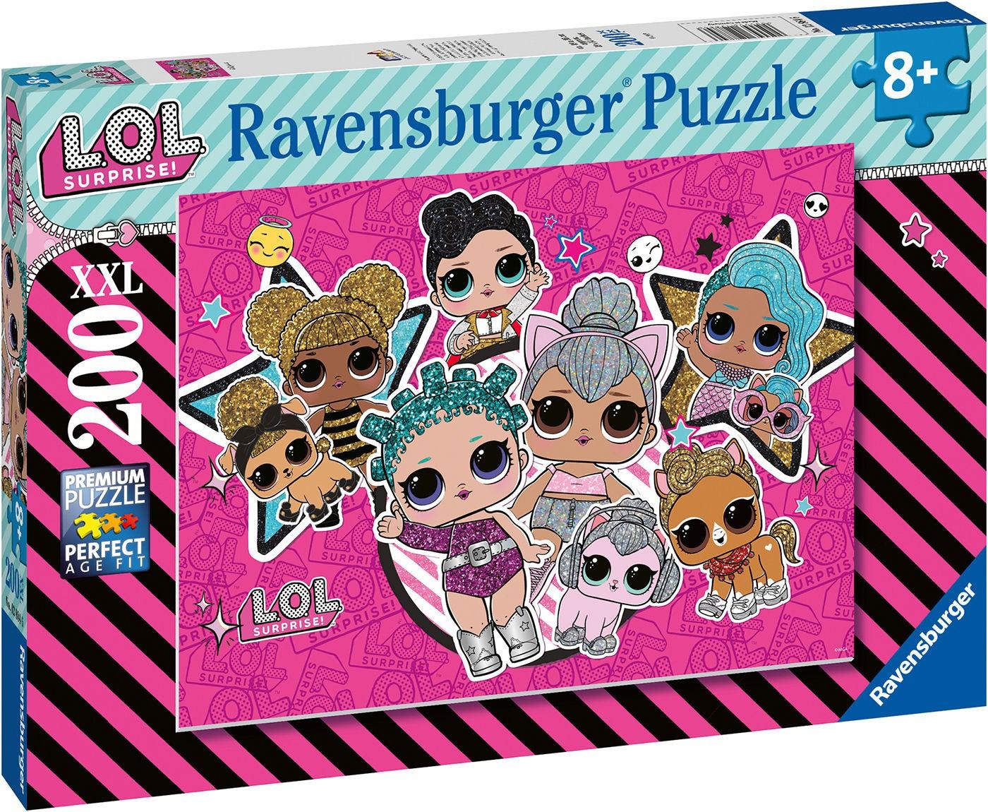 Ravensburger Pussel L.O.L. Surprise! Girl Power 200 Bitar