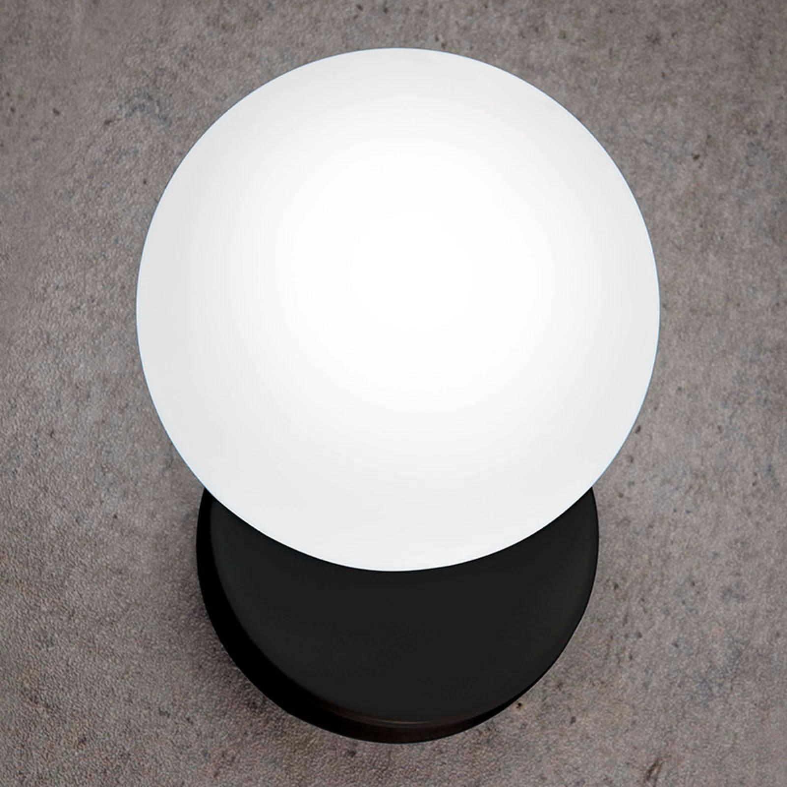 Seinävalaisin Tin Tin, 1-lamppuinen, musta