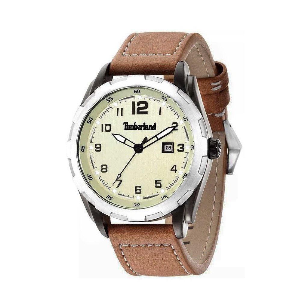 Timberland Men's Watch Brown 13330XSU - brown NOSIZE
