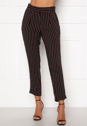 Happy Holly Thea pants Black / Striped 32/34