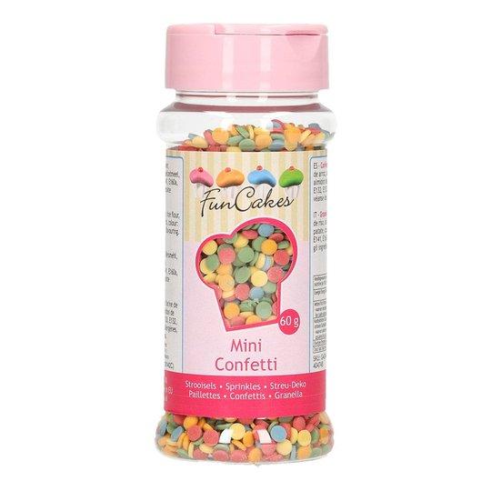 FunCakes Strössel Mini Confetti Mix - 60 g