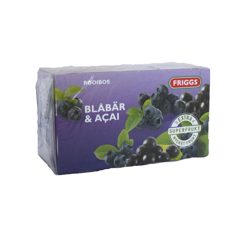 Te Blåbär & Acai - 60% rabatt