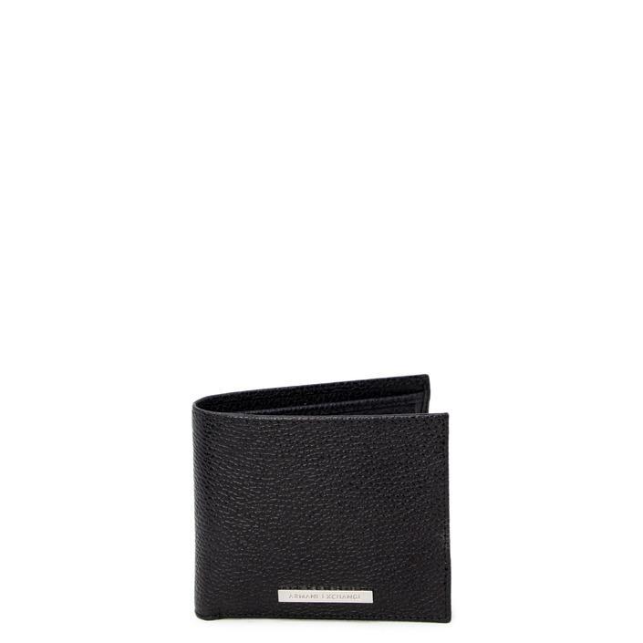 Armani Exchange Men's Wallet Black 247073 - black UNICA