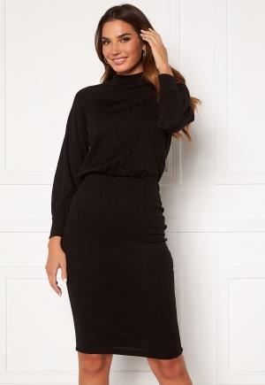 Happy Holly Stella Turtleneck dress Black 40/42