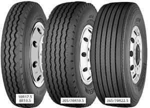 Michelin XZA ( 8 R17.5 117/116L 10PR )