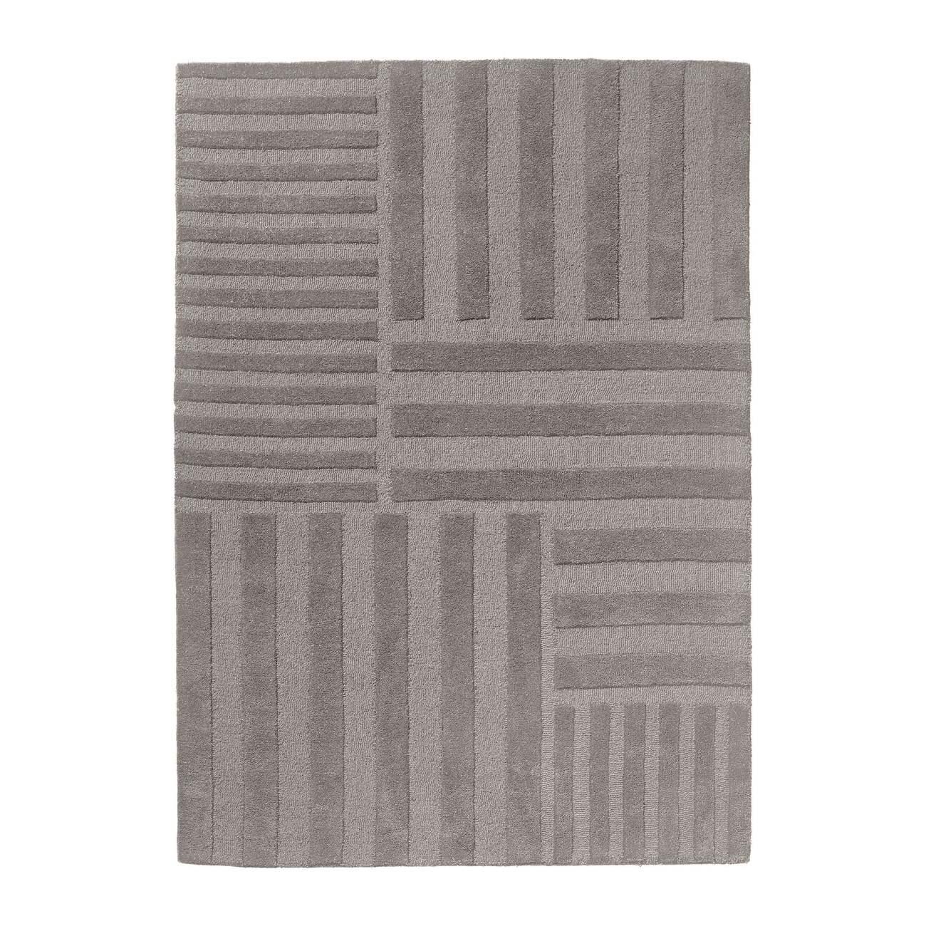 Ullmatta CONTRA 170 x 240 cm grå, AYTM