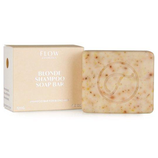 Flow Cosmetics Ekologisk Schampotvål för Blont hår, 120 g