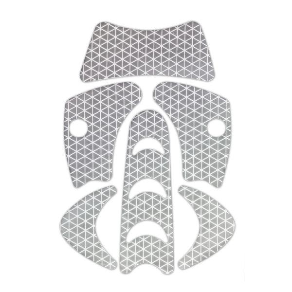 KASK WAC00001.055 Refleks-sett til hjelm PLASMA HI VIZ Grå