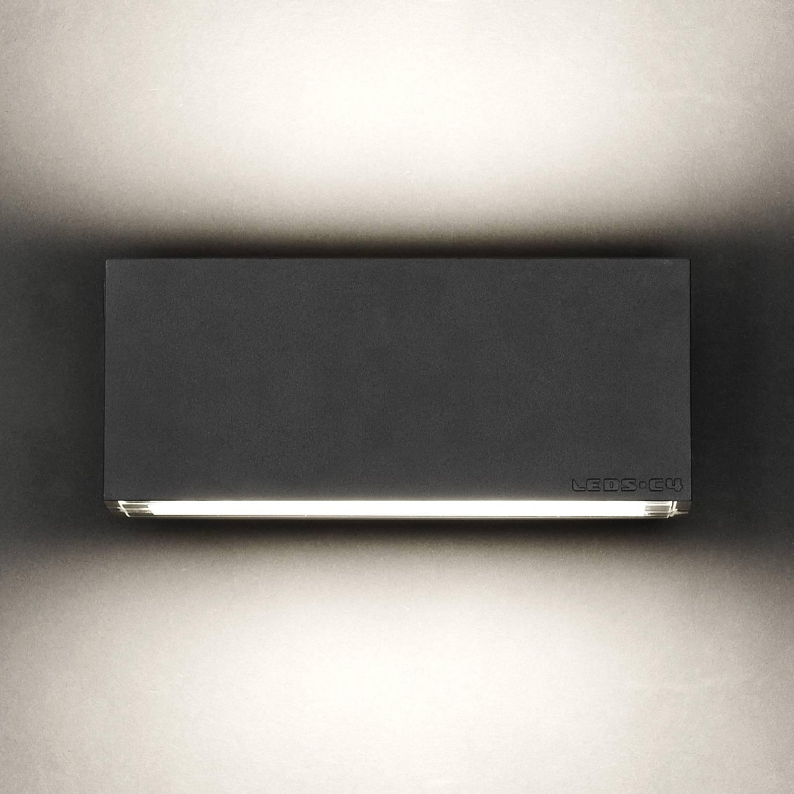 LEDS-C4 Afrodita -seinälamppu up/down antrasiitti