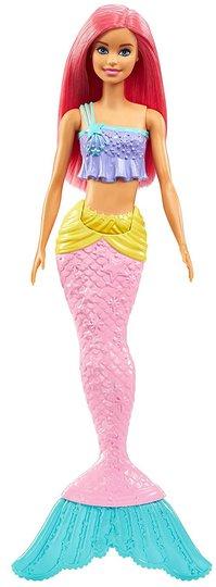 Barbie Dreamtopia Dukke Mermaid, Rosa/Gul