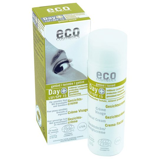 Eco Cosmetics Facial Day Cream SPF15 Granatäpple & Havtorn, 50 ml