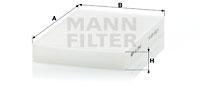 Raitisilmasuodatin MANN-FILTER CU 2945