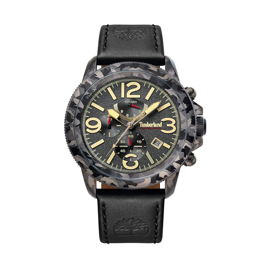 Timberland Men's Watch Black 15474JSGY - black NOSIZE