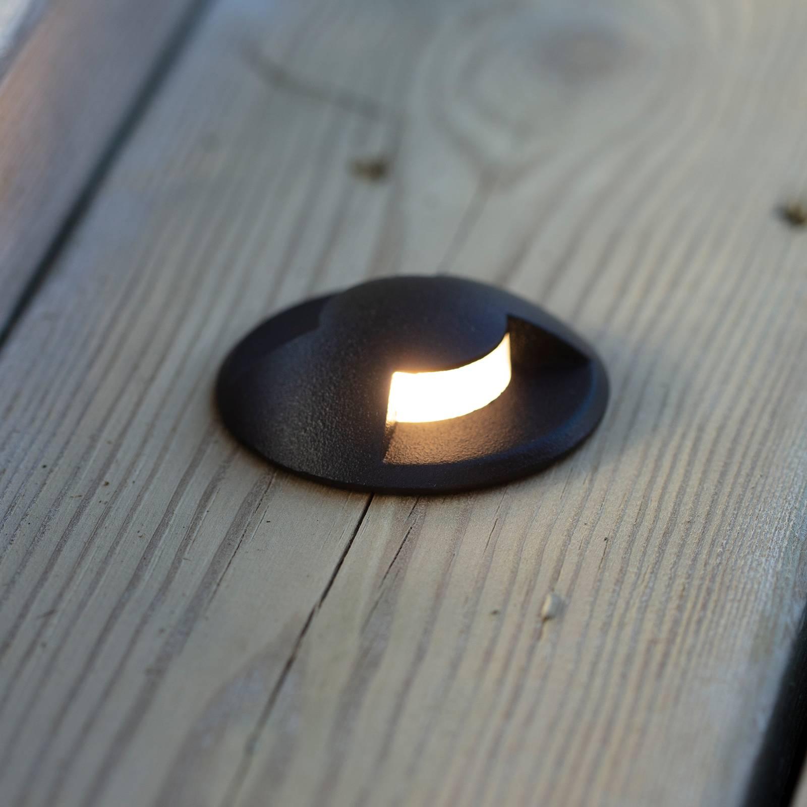 Garden 24 -LED-porrasvalo Stair Light, musta 0,8 W
