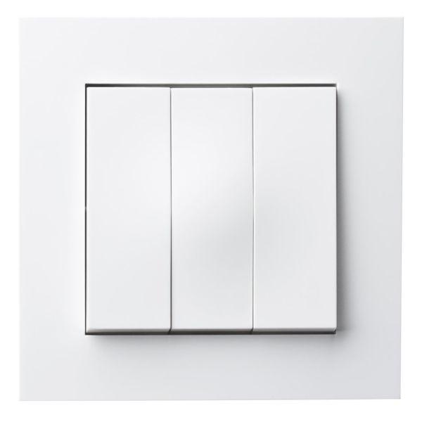 Elko Plus 3x1-Pol Skruv Vaihtokytkin valkoinen, ruuviliitäntä