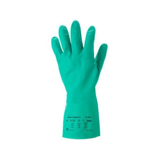 Ansell Solvex Plus 37-675 Käsineet Koko 7, Kemikaalisuoja, Nitriili
