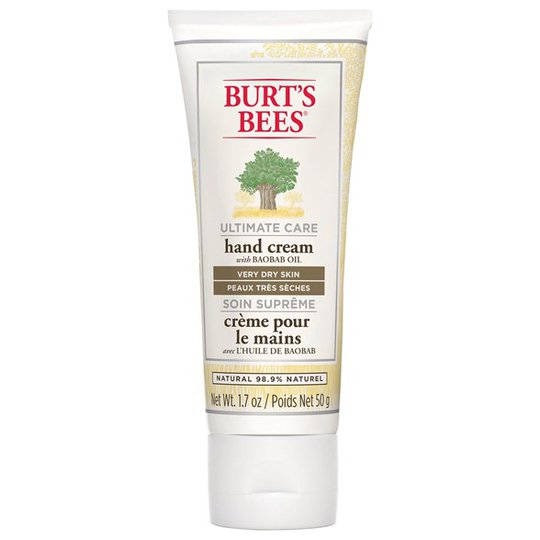 Burt's Bees Ultimate Care Hand Cream with Baobab Oil, 50 g