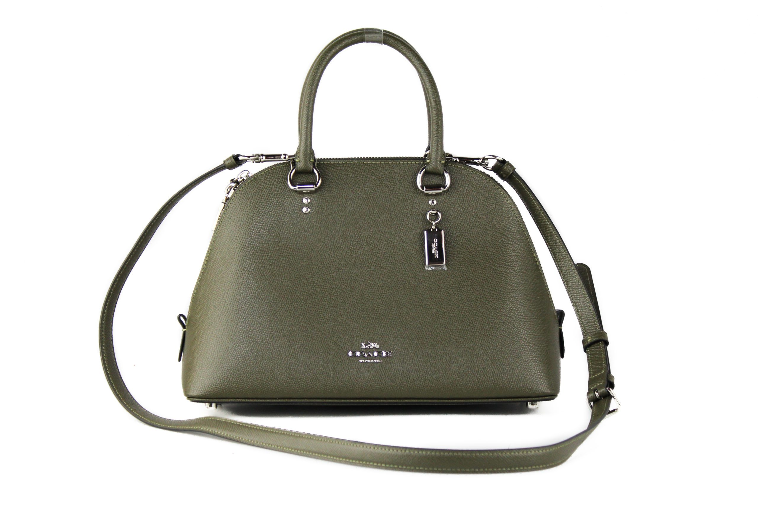 COACH Women's Katy Satchel Bag Cargo Green 93723