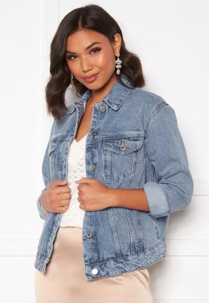 VERO MODA Katrina LS Loose Jacket Light Blue Denim S
