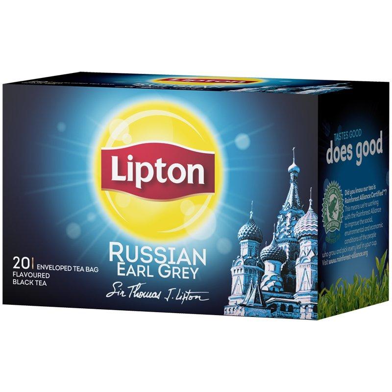 Russian Earl Grey Tee 20kpl - 16% alennus