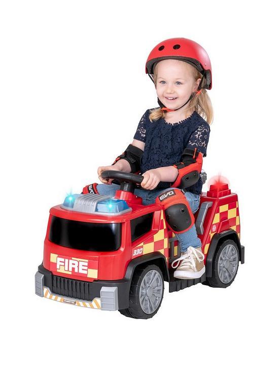 EVO - Electric Car - 6V Fire Engine (1437538)