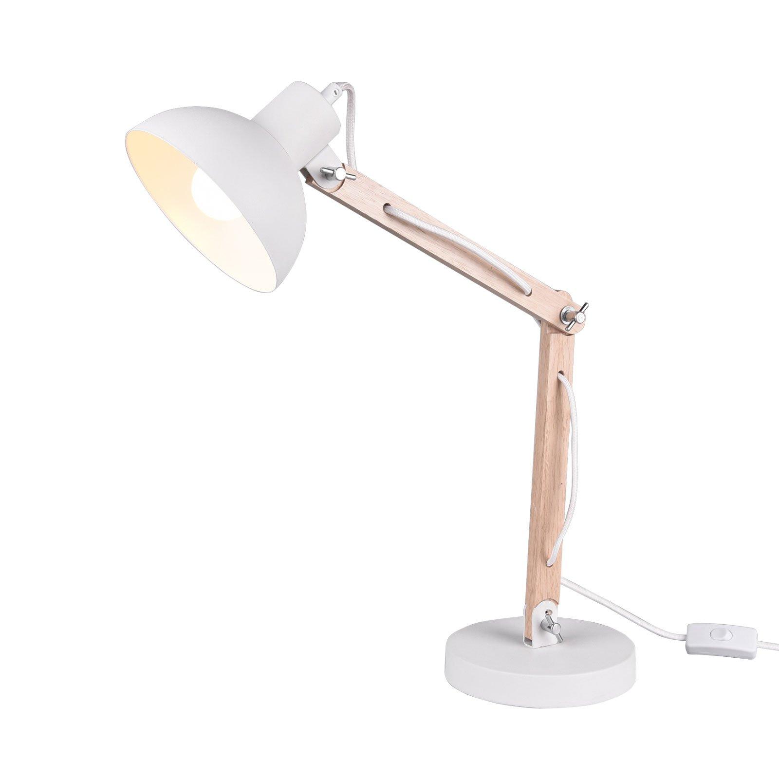 Bordlampe Kimi, hvit