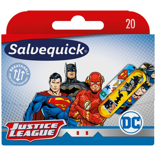 Plåster Superhjältar 20-pack - 53% rabatt