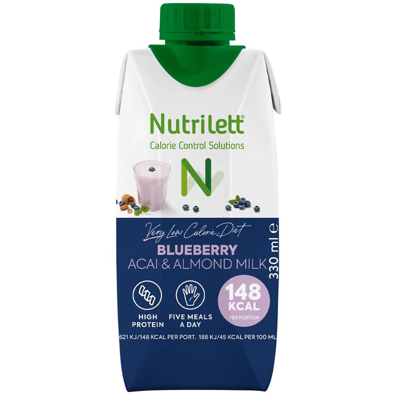 Måltidsersättningsshake Blueberry, Acai & Almond - 43% rabatt