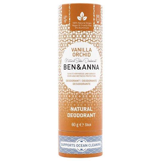 Ben & Anna Natural Soda Deo Stick Vanilla Orchid, 60 g
