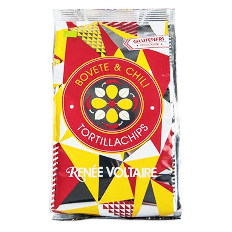 Tortillasipsit Tattari & Chili 70g - 43% alennus