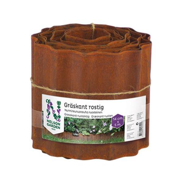 Nelson Garden 5302 Gresskant rusten, 14 x 500 cm