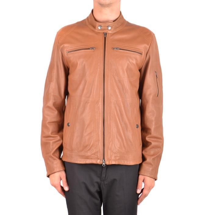 Fay Men's Jacket Brown 163734 - brown L