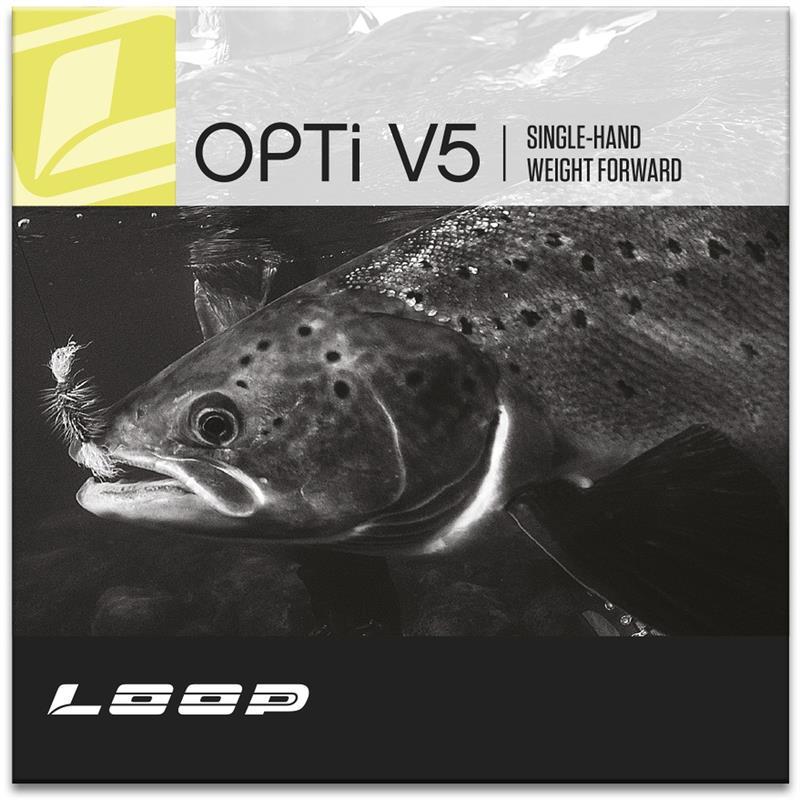 Loop Opti V5 WF #8 Lime, Klumpvekt 20g
