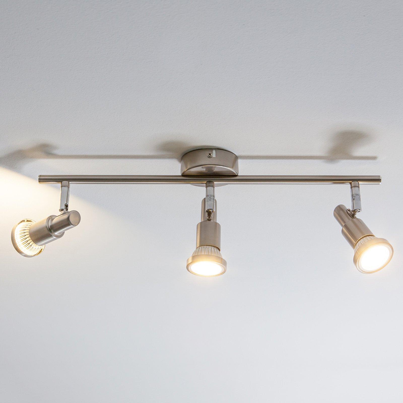 Smal taklampe Aron med 3 lys