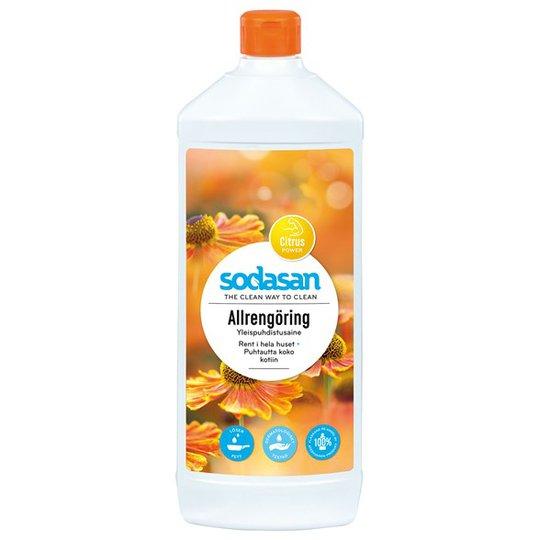 Sodasan Allrengöring Citrus Power, 1 L