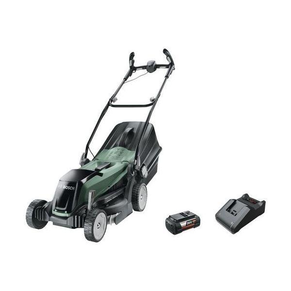 Bosch DIY Easy Rotak 36-550 Gressklipper med 4,0 Ah-batteri og lader