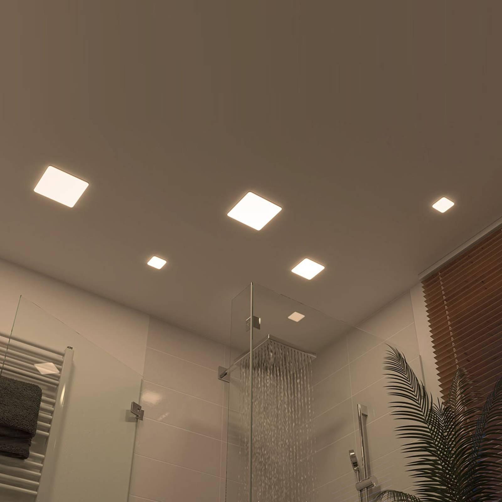 Paulmann Veluna -LED-uppovalo 4 000 K 18,5 x 18,5