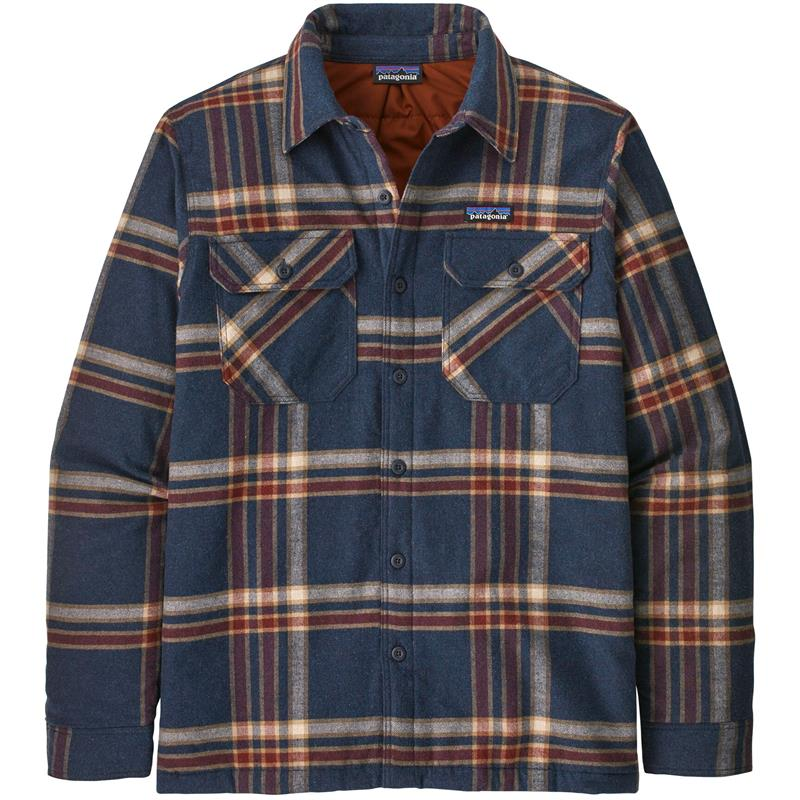 Patagonia Insulated Organic Cotton S Smolder Blue