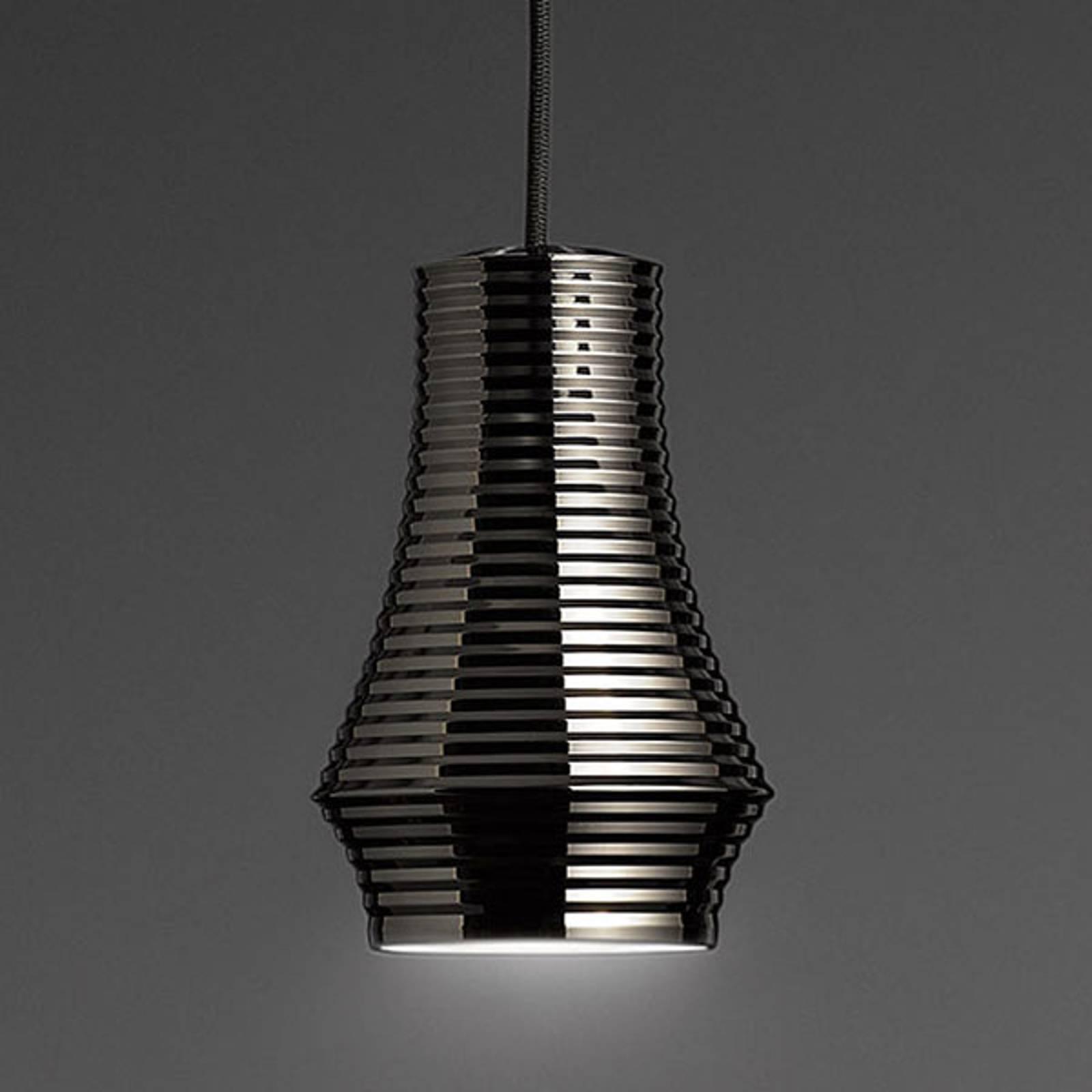 Bover Tibeta 01 - LED-riippuvalaisin, kromi-musta