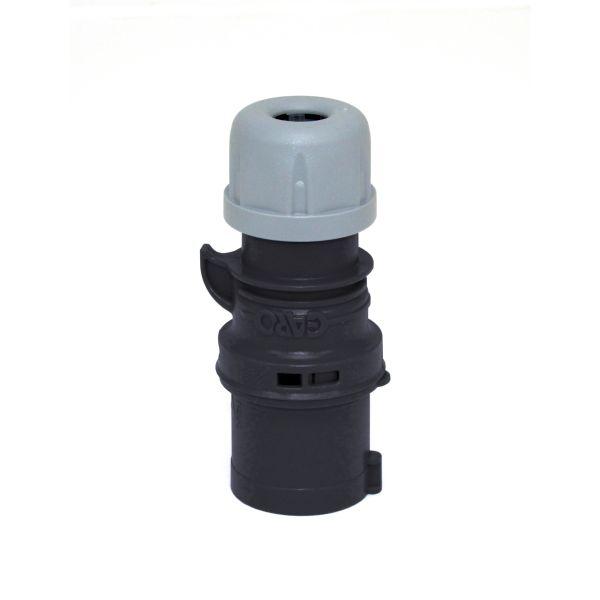 Garo P 216-7 Q Pistotulppa IP44, 3-napainen, 16A, Quick Musta, 7 h