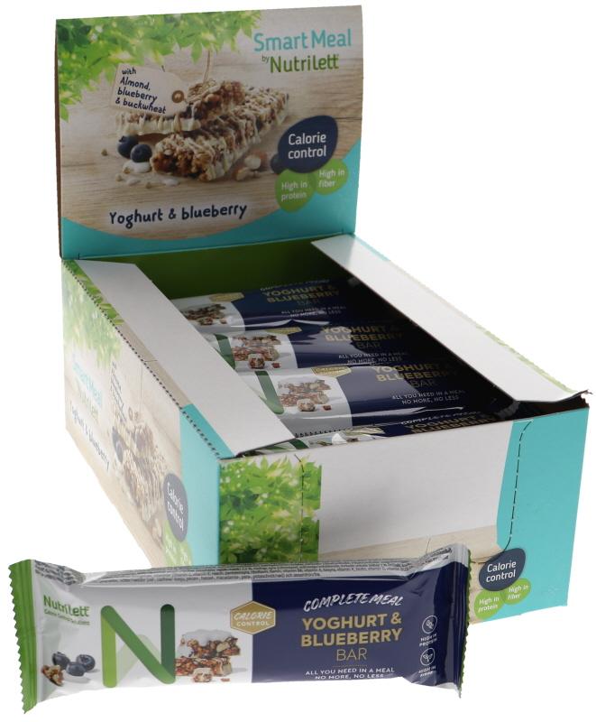 Måltidsersättningsbars Yogurt & Blåbär 20-pack - 47% rabatt