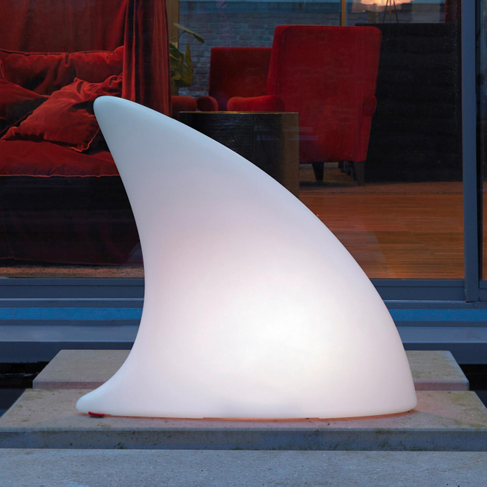 LED-koristevalaisin Shark Outdoor, värin vaihto