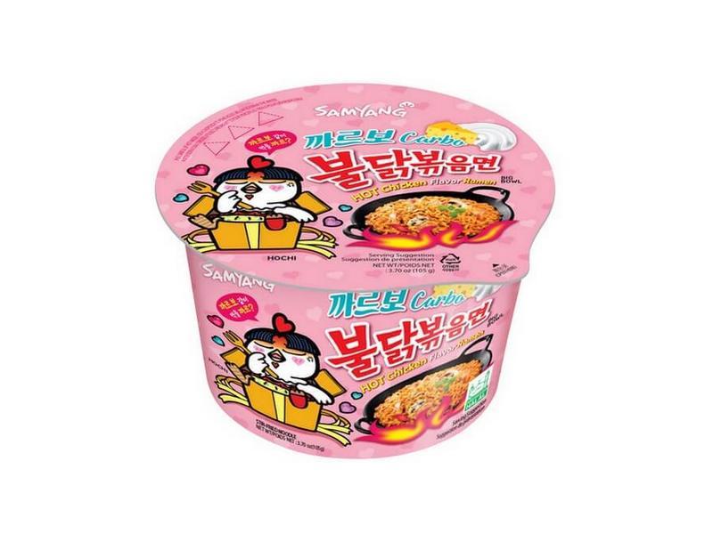 Samyang Carbo Hot Chicken Flavor Ramen BOWL 105g