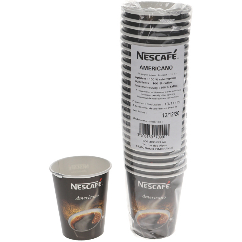 Nescafe Americano Pikakahvi 25kpl - 86% alennus