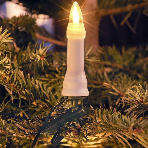 Konstsmide 1014-020 Juletrebelysning 25 stk., DC LED, utendørsbruk