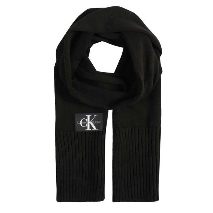 Calvin Klein - Calvin Klein Men Scarf - black UNICA