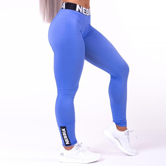 Scrunch Butt Sport Tights, Blue