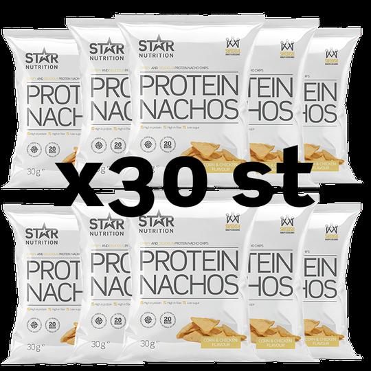 30 x Protein Nachos, 30g, BIG BUY