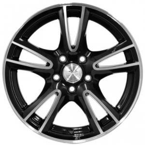 League LG279 Black Polished 6.5x15 4/100 ET38 B73.1